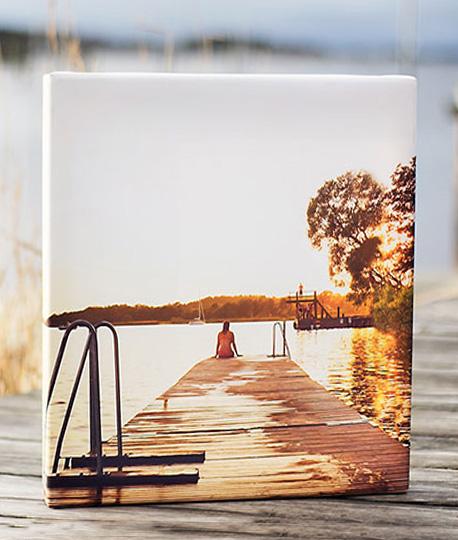 Printa bilder på canvas