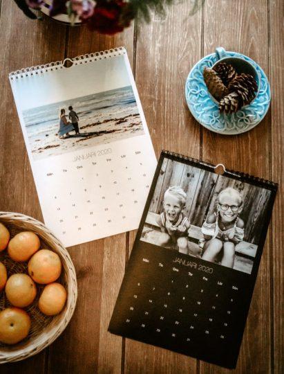 Gör en personlig fotoalmanacka